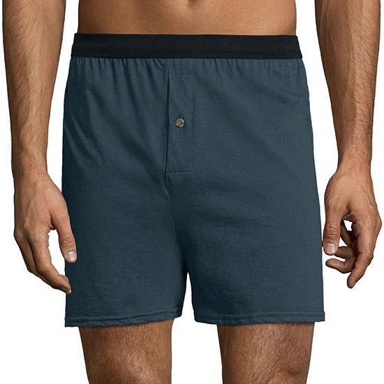 Hanes Mens Freshiq Comfortflex Waistband Knit Boxer 3 Pack Big