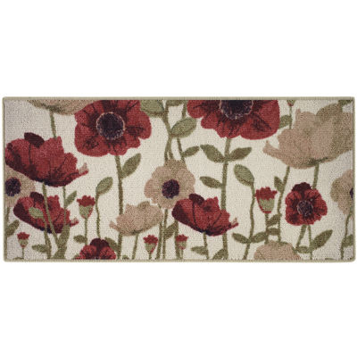 Floral Couture Kitchen Rectangular Rugs