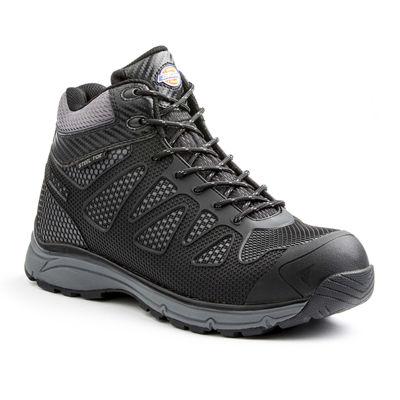 Dickies® Fury Mens Mid-Top Steel Toe Work Shoes