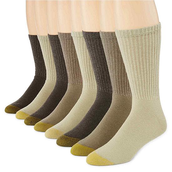 Gold Toe® 6-pk + 2 Bonus Pair Athletic Crew Socks