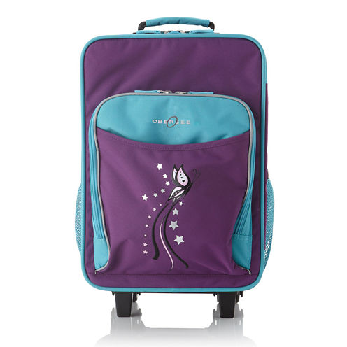 Obersee® Kids Butterfly Luggage with Integrated Cooler