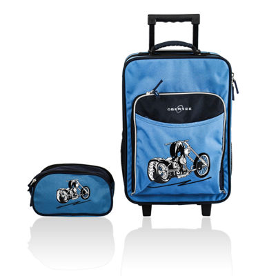 Obersee® Kids 2-pc. Motorcycle Luggage & Toiletry Set
