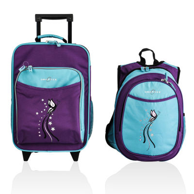 Obersee® Kids 2-pc. Butterfly Luggage & Backpack with Cooler Set