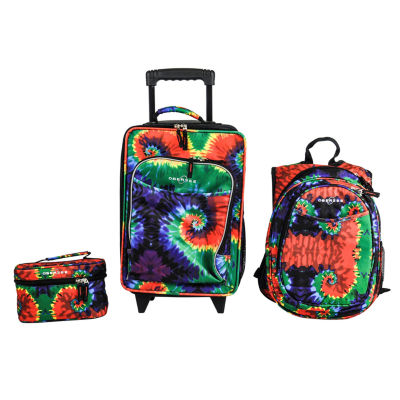 Obersee® Little Kids 3-pc. Tie-Dye Luggage, Backpack & Toiletry Bag Set