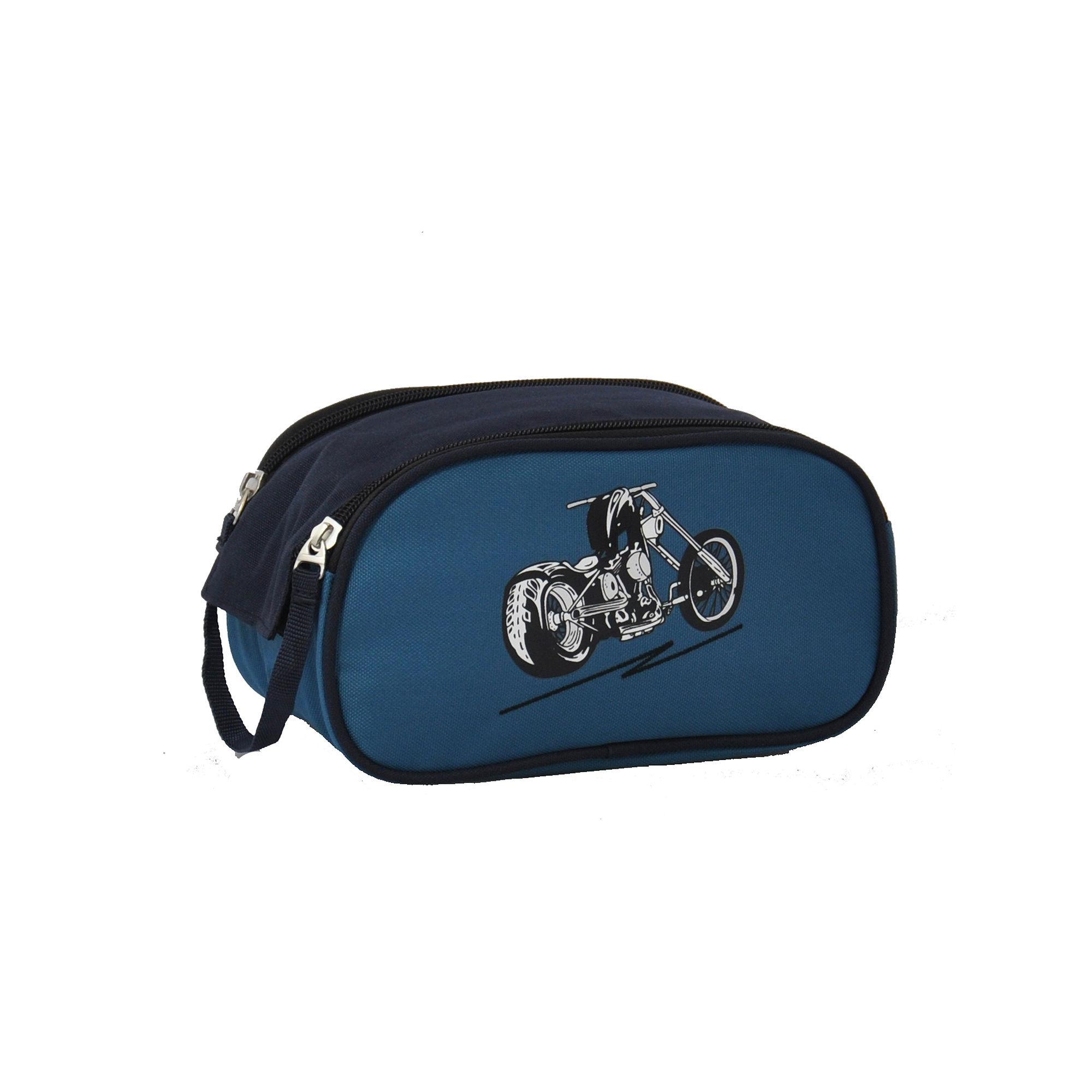 Obersee Motorcycle Toiletry Bag