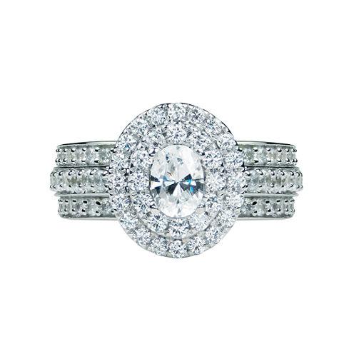 Modern Bride® Signature 2 Ct. T.W. Diamond 14K White Gold Engagement Ring