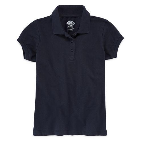 Dickies® Short-Sleeve Piqué Polo Shirt - Girls 7-16