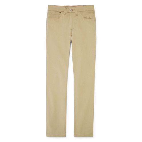 Dickies® 5-Pocket Skinny Stretch Twill Pants - Girls 7-16