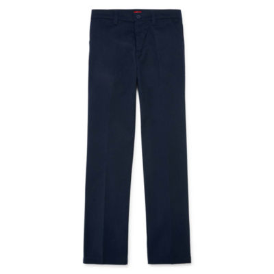 Dickies® Flat-Front Twill Slim Pants - Preschool Girls 4-6x