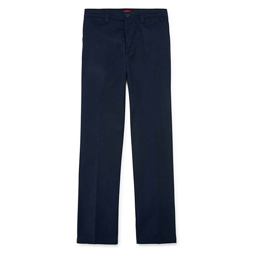 Dickies® Flat-Front Twill Pants - Girls 7-16