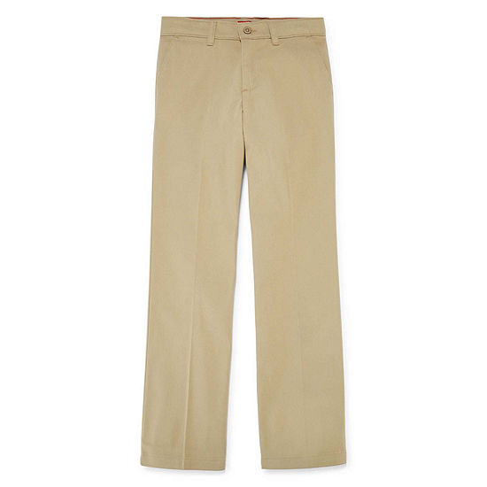 Dickies® Classic-Fit Stretch Straight-Leg Pants - Girls 7-16