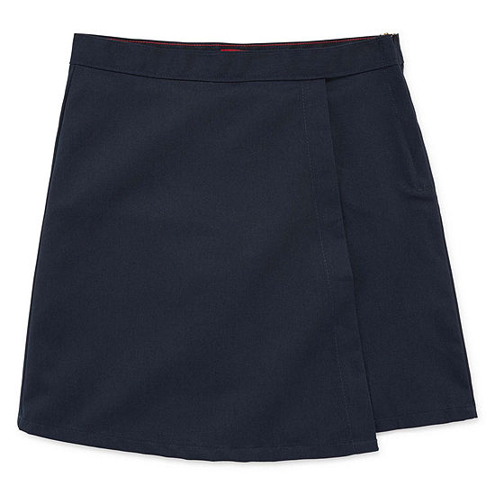 Dickies® Faux Wrap Skort - Preschool Girls 4-6x