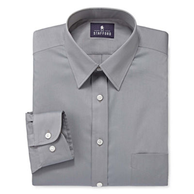 Stafford® Comfort Stretch Long Sleeve Dress Shirt - Big & Tall