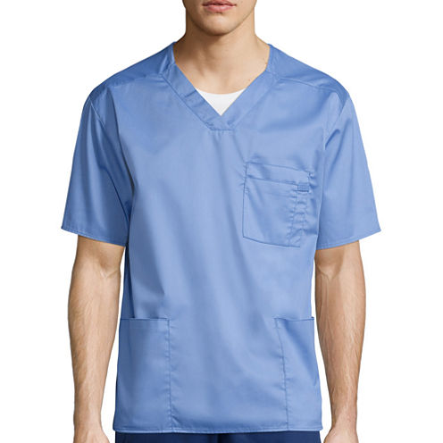 WonderWink® Men's Short-Sleeve V-Neck Top