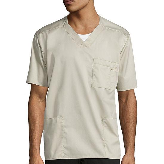 WonderWink® WonderWORK 103 Men's Short-Sleeve V-neck Top