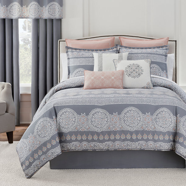 Eva Longoria Home Bethany 4-pc. Comforter Set
