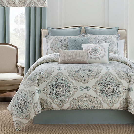 Eva Longoria Home Briella 4 Pc Comforter Set