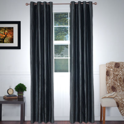 Cambridge Home Wavy 2-Pack Grommet-Top Curtain Panels