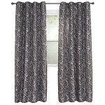 Cambridge Home Joy Jacquard Grommet-Top Curtain Panel