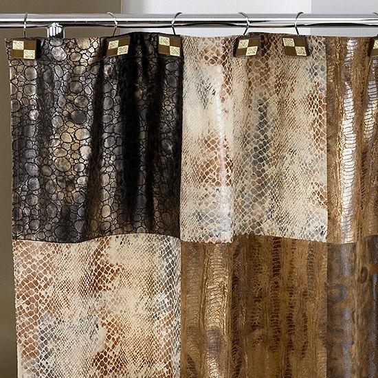 Zambia Animal Print Shower Curtain