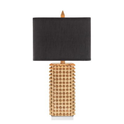 Catalina Gold Spiked Table Lamp
