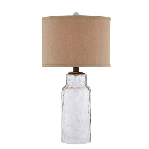 Catalina Seeded Glass Table Lamp