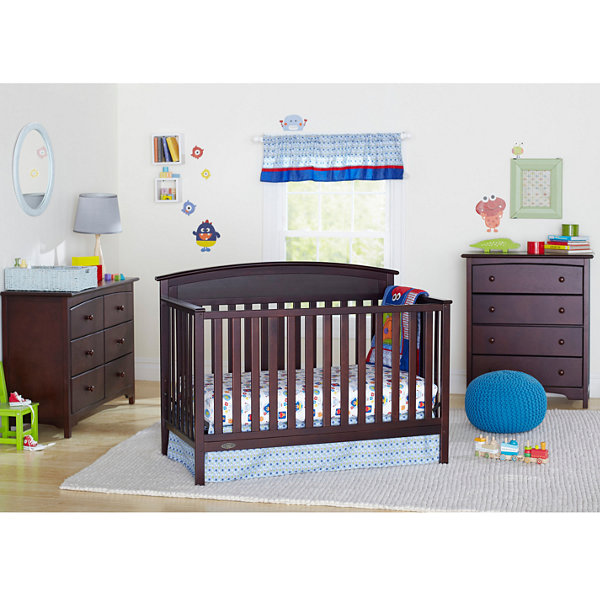 Graco® Benton 5-in-1 Convertible Crib - Espresso