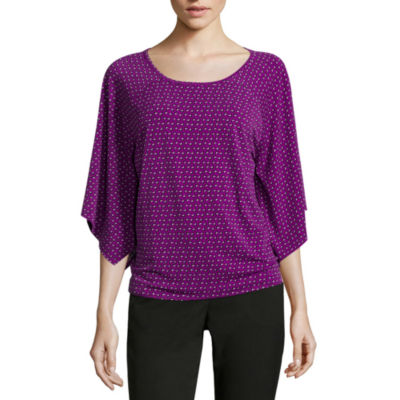 Worthington® Long-Sleeve Cape Top - Tall