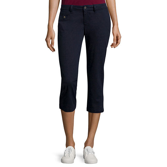 Arizona Schoolgirl Cropped Pants