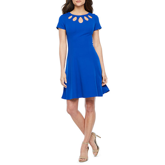 Alyx Short Sleeve Fit Flare Dress
