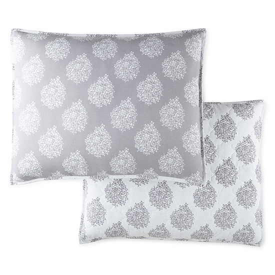 JCPenney Home Bohemian Reversible Pillow Sham
