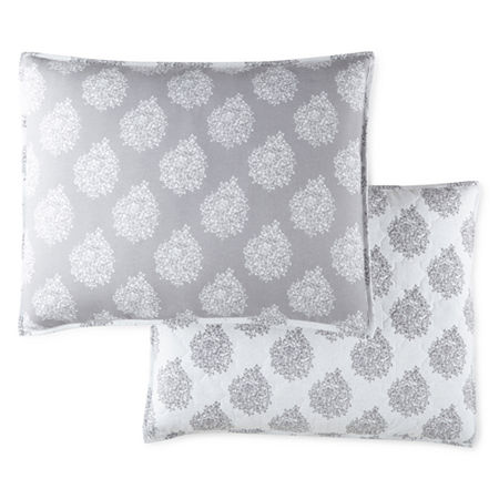 JCPenney Home Bohemian Reversible Pillow Sham, One Size , Multiple Colors