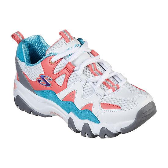 Skechers D'Lites 2.0 Little Kid/Big Kid Girls Lace-up Sneakers