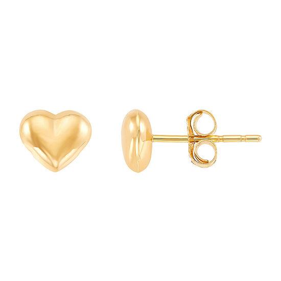 14K Gold 5.5mm Stud Earrings