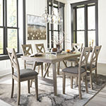 Signature Design by Ashley® Aldwin 7-Piece Dining Set