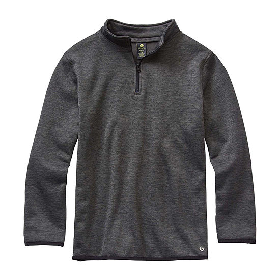 Xersion Little & Big Boys Long Sleeve Quarter-Zip Pullover