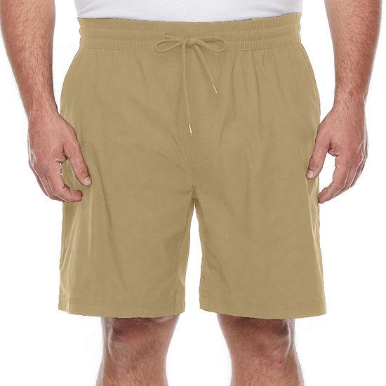 Stylus Big & Tall Mens Pull-On Stretch Woven Short