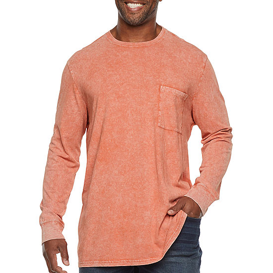 .39 The Foundry Big & Tall Supply Co. Mens Crew Neck Long Sleeve T-Shirt at JCPenny!