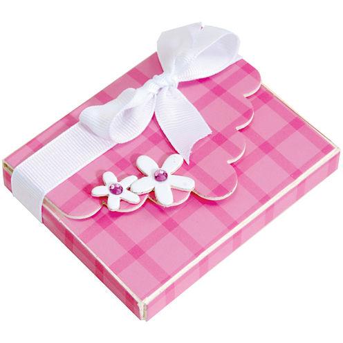 Sizzix® ScoreBoards XL Die, Box w/ Scallop Flap & Flowers