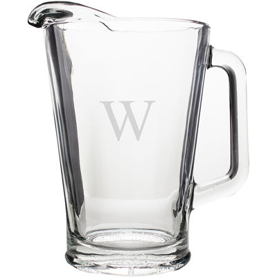 Cathy's Concepts Personalized Glass Pitcher