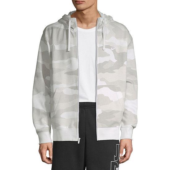 Nike Camo Mens Long Sleeve Hoodie