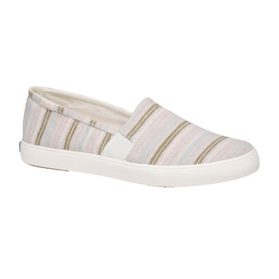 Keds Womens Clipper Washed Solids Slip-On Shoe