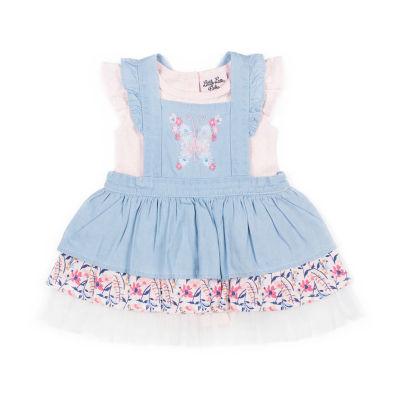 Little Lass 2-pc. Skort Set Baby Girls