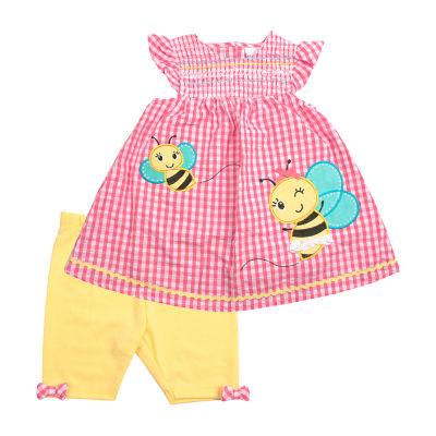 Nanette Baby 2-pc. Short Set Girls