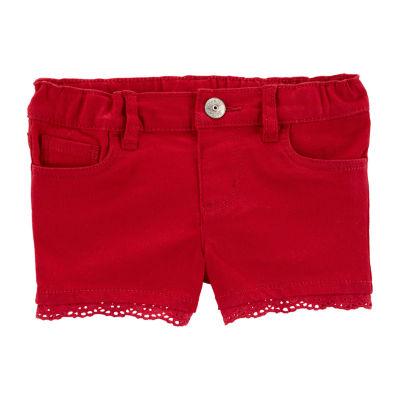 Oshkosh Girls Pull-On Short Toddler