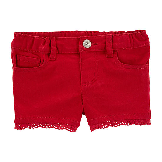 Oshkosh Girls Pull-On Short Toddler