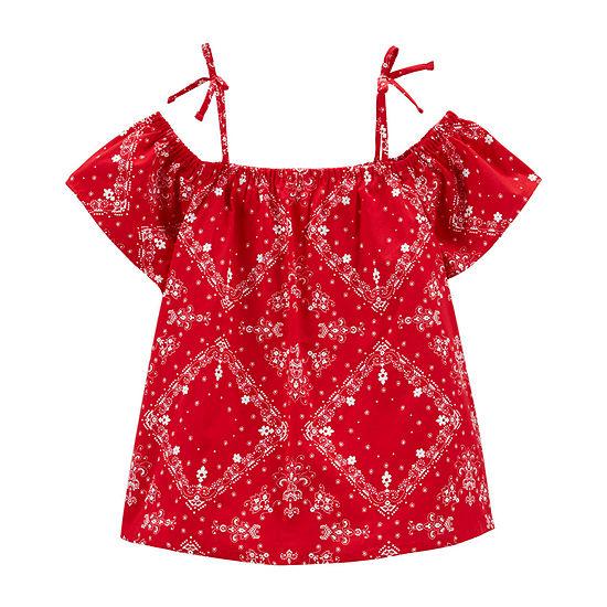 900ef2fbfa Oshkosh Girls Short Sleeve Tunic Top - Preschool
