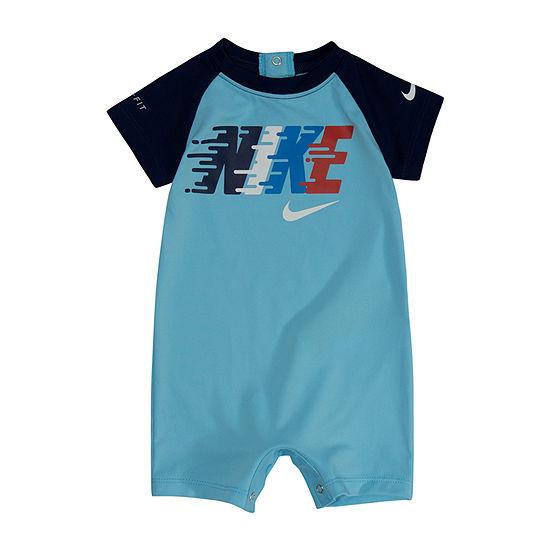 Nike Boys Short Sleeve Romper - Baby