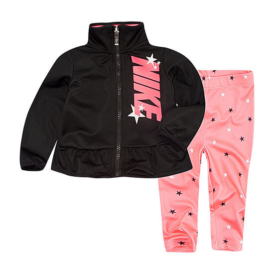 Nike Girls 2-pc. Star Pant Set Baby
