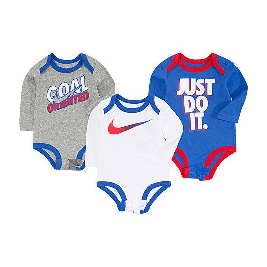 Nike Boys 3-pc. Bodysuit-Baby